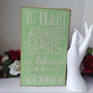 Wooden Garden Decor Sign, Designs by Kathy